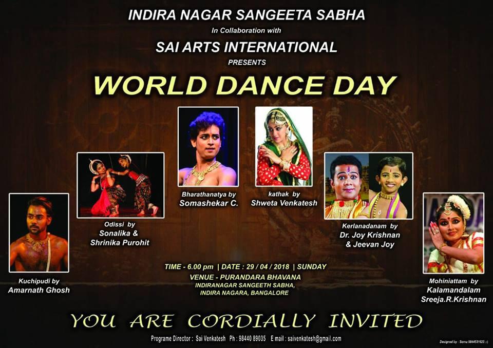 World Dance Day, Bengaluru