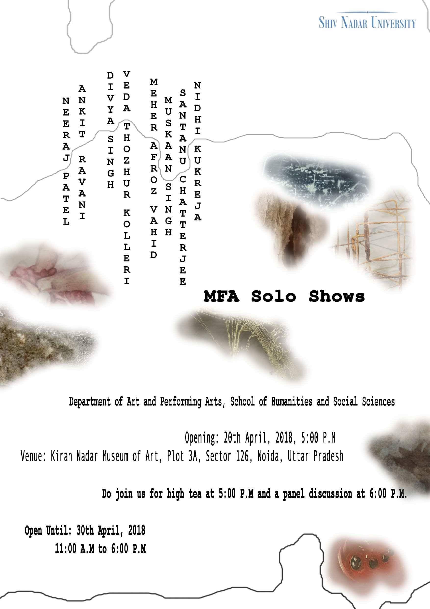 MFA Solo Shows