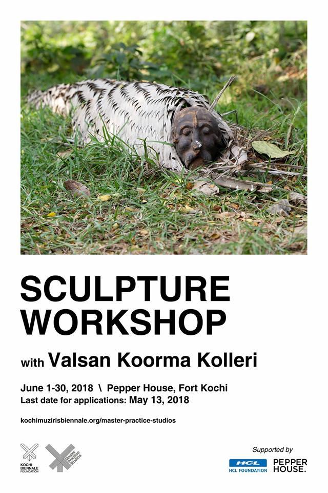 Sculpture Workshop with Valsan Koorma Kolleri