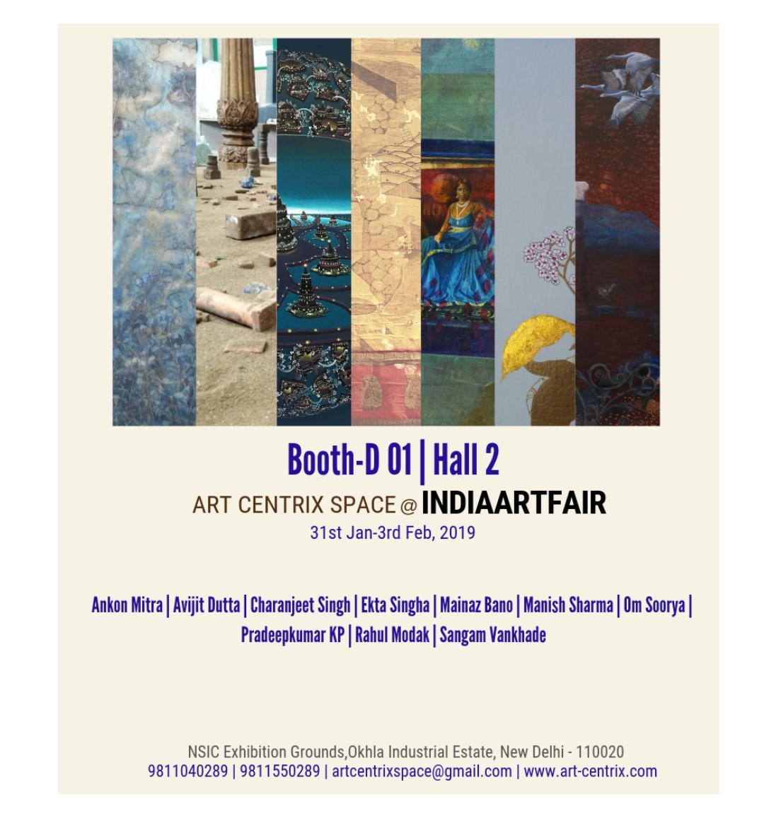 Art Centrix Space @ India Art Fair 2019