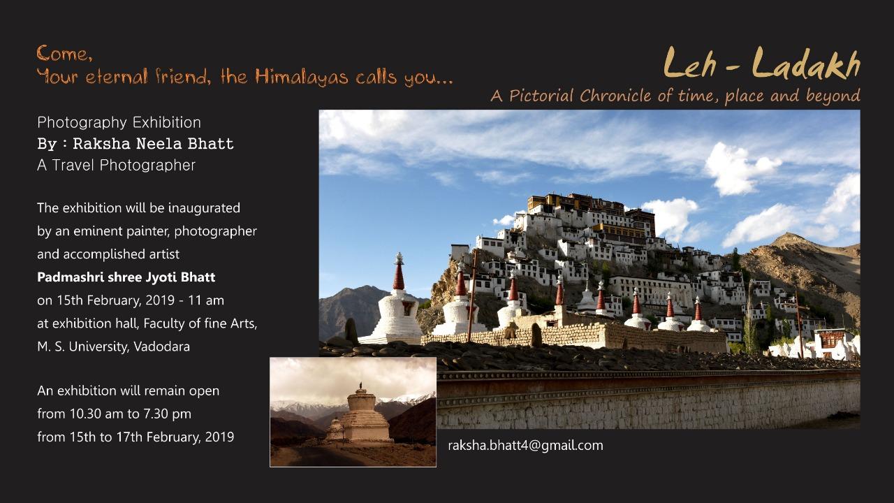 Leh-Ladakh: Photography Exhibition by Raksha Bhatt