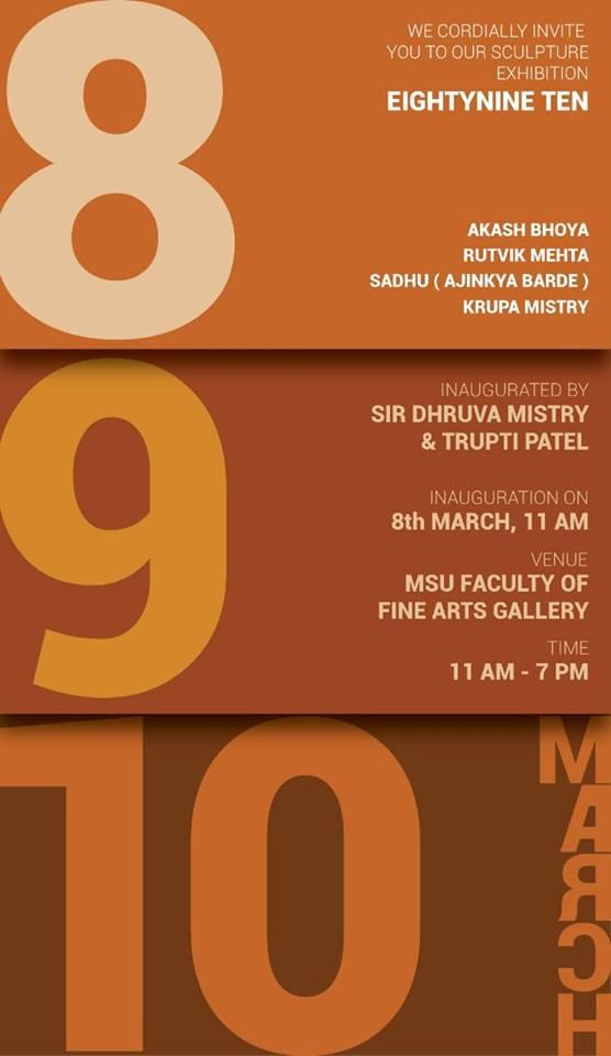 Eighty Nine Ten - Sculpture Group Exhibition
