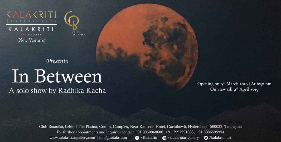 In Between - A solo show by Radhika Kacha
