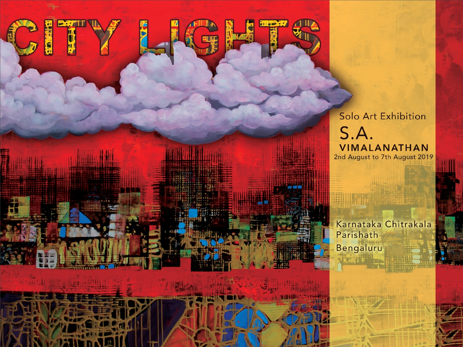 City Lights -  One-Man exhibition of Paintings by S.A. Vimalanathan