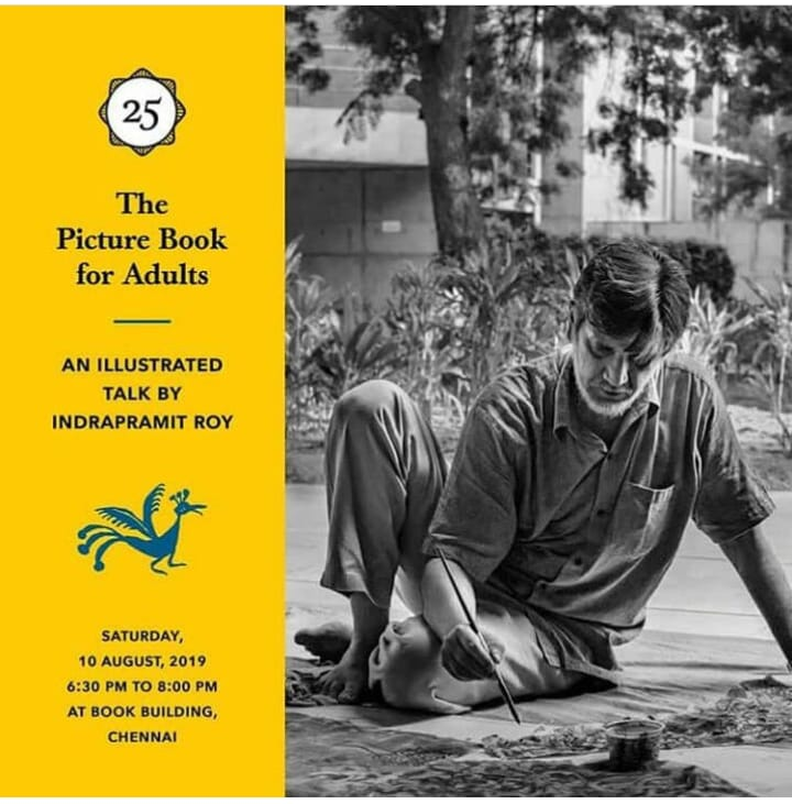 The Picture Book for Adults - An Illustrated Talk by Indrapramit Roy