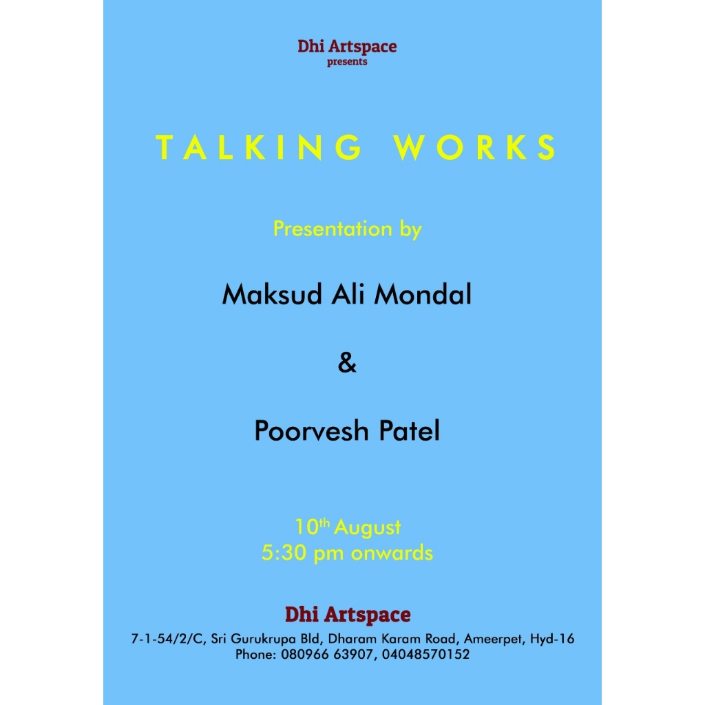 Talking Works - Presentation by Maksud Ali Mondal and Poorvesh Patel