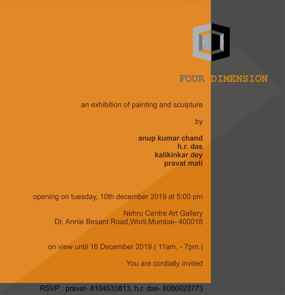 Four Dimension - An exhibition of paintings and sculptures