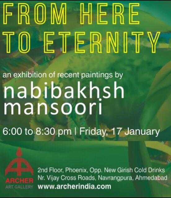 From Here to Eternity – An exhibition of recent paintings by Nabibaksh Mansoori