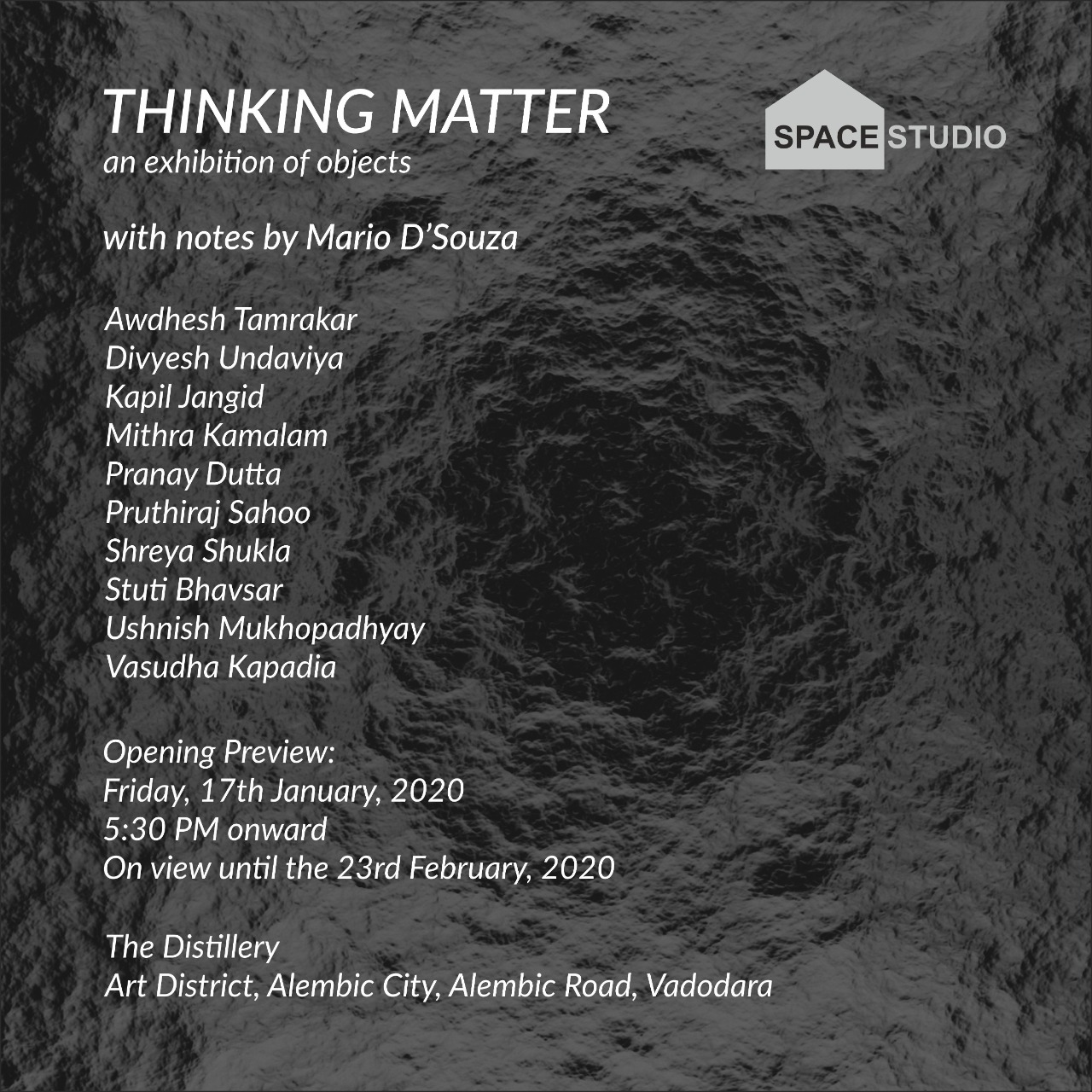 Thinking Matter – an Exhibition of Objects