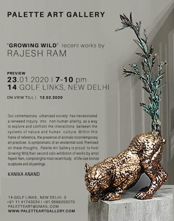 'Growing Wild' – Recent works by Rajesh Ram